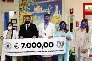 Il Cesena Calcio consegna 7mila euro a 'Pediatra a Misura di Bambino'