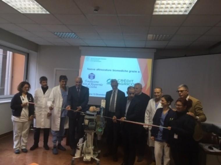 Nuove Tecnologie Al Bufalini Grazie Alla Fondazione Crc E Credit Agricole Italia