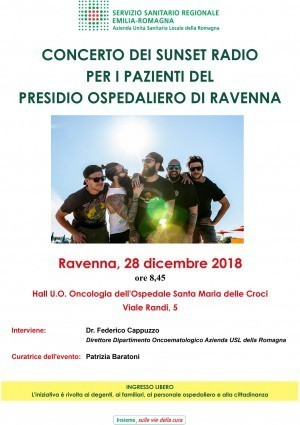 "I ""Sunset Radio"" di Ravenna"