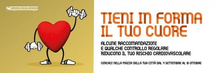 """""""Tieni in forma il tuo cuore"""" :  la campagna regionale dedicata al rischio cardiovascolare. Sabato 9 ottobre il truck itinerante farà tappa a Forlì"""