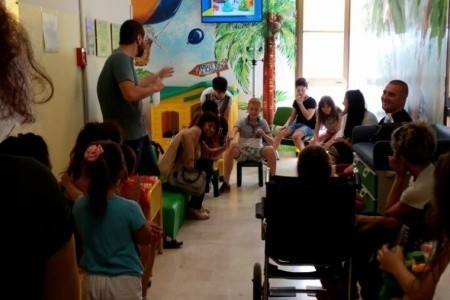 Il Pon dell'istituto comprensivo diventa un momento di accoglienza per i piccoli pazienti della Pediatria di Ravenna