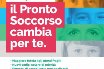 Pronto soccorso, introduzione di un quinto codice colore (azzurro) di priorità nel triage. In Romagna la novità verrà introdotta dal 12 ottobre