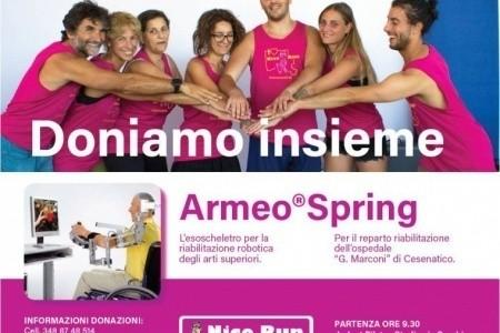 """""""NICO RUN"""": il 29 settembre a Cesena cammina con Nico per la Medicina Riabilitativa di Cesenatico"""