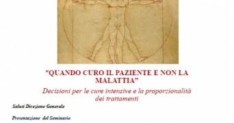 """""""Quando curo il paziente e non la malattia"""" Webinar in tema di Bioetica (4 marzo 2021 ore 20:45)"""