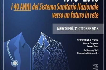 """""""1978 - 2018: i 40 anni del Sistema Sanitario Nazionale, verso un futuro in rete"""": un convegno di Ausl Romagna il 31 ottobre"""