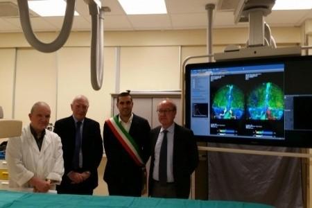 Ancora potenziata la Diagnostica ravennate, col nuovo Angiografo donato dalla Fondazione Cassa di Risparmio di Ravenna