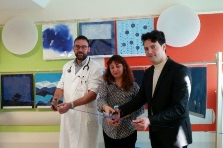 Laboratori creativi e arteterapia nella Pediatria di Rimini, col progetto Goccia Blu