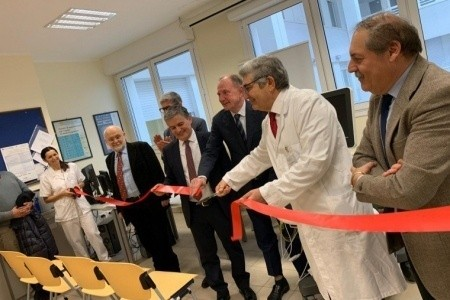 La Bper dona un innovativo ecocardiografo alla Cardiologia di Rimini