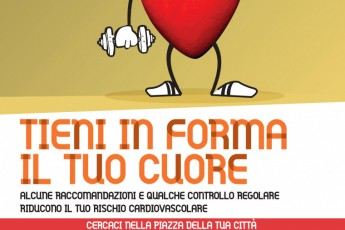 """La campagna regionale """"Tieni in forma il tuo cuore"""" fa tappa a Ravenna. Domenica 12 settembre in piazza Kennedy"""