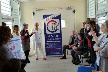 Umanizzazione delle cure: Aned dona nove televisori alla Nefrologia e Dialisi di Rimini