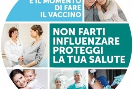 Influenza stagionale, al via le vaccinazioni
