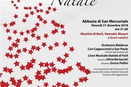 """L'Associazione ONLUS """"Salute e Solidarietà"""" vi invita al """"Grande concerto di Natale""""  (Forlì, 21 dicembre)"""