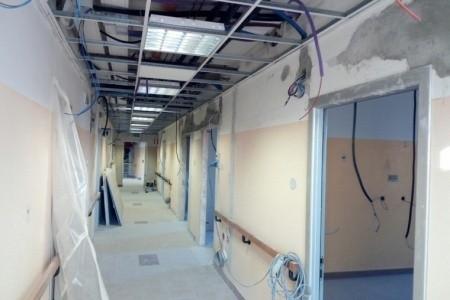 Savignano, avanzano i lavori per l'ampliamento dell'Ospedale di Comunità