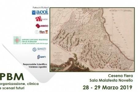 """""""PBM: organizzazione, clinica e scenari futuri"""", convegno scientifico il 28 e 29 marzo a Cesena"""