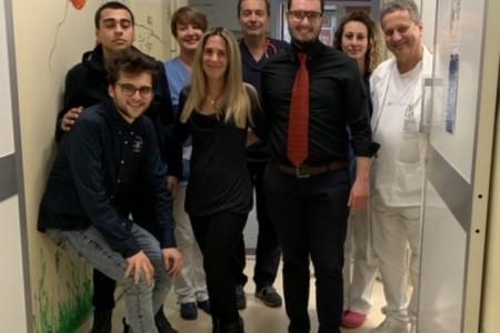 Ancora una donazione alla Pediatria di Ravenna: il Leo Club fa visita ai piccoli pazienti