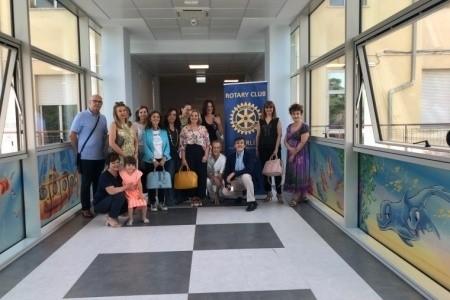 """Pediatria più bella all'Ospedale di Forlì grazie alle """"Consorti del Rotary"""""""