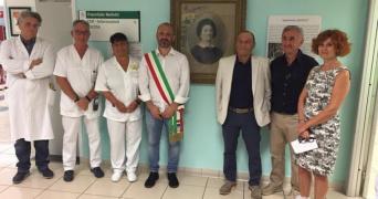 Santa Sofia: il Gruppo Ausl Romagna Cultura ricolloca foto e pannello in memoria di Porzia Nefetti