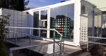 Bufalini, all'esterno del Pronto Soccorso allestita struttura provvisoria per l'attesa dei parenti dei pazienti
