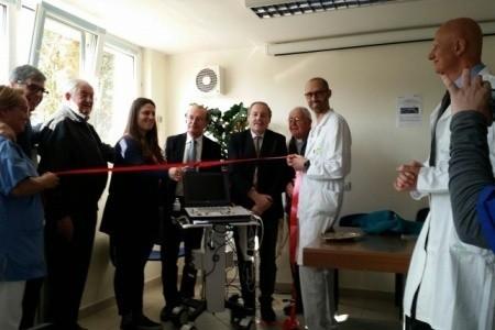 """Piccolo ma super... Un nuovo ecografo all'Ospedale di Santarcangelo, donato dall'associazione """"Paolo Onofri"""""""
