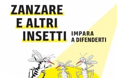 """""""Zanzara e altri insetti: impara a difenderti"""". Al via campagna informativa della Regione"""
