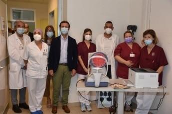 """Donato un aberrometro-biometro di ultima generazione all'Oculistica di Forlì: """"attrezzatura unica e fondamentale per la prevenzione"""""""